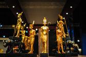 Egyptian pharaoh figures — Stock Photo