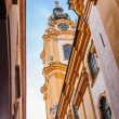 Stift Melk Abbey Church from behind — Stock Photo #44271551