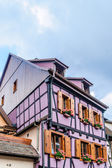 Half timbered house in alsace — Stock Photo