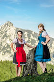Austrian Beauties — Stock Photo