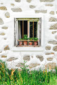 Window of a Farm — Stock Photo
