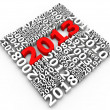 Stock Photo: New year 2013