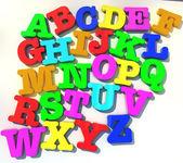 Alfabeto abcd — Fotografia Stock