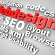 Webdesign SEO — Stock Photo