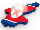 Coreia do norte — Foto Stock
