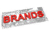 Brands — Stock Photo
