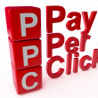 PPC Pay Per Click — Stock Photo #40342317