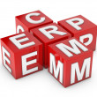 Stock Photo: ERP and CRM key to success
