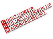 CRM Customer Relationship Management — Stock Photo