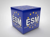ESM european stability mechanism — Stock Photo