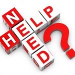 Need Help — Stock Photo #45354493
