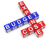 Expense Budget Cost — Stock Photo