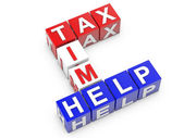 Tax Time Help — Stock Photo