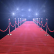 Red carpet — Stock Photo #8314205