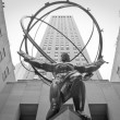 Statue of Atlas — Stock Photo