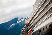 Cruising to Alaska — Stock Photo