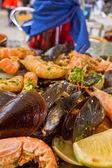 Grilované mořské plody - parrillada de marisco — Stock fotografie