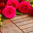 Stock Photo: Fresh garden roses