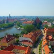 Old  Wroclaw, Poland — Stock Photo