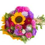 Autumn flowers bouquet — Stock Photo #12862149
