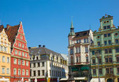 Old houses on plac Solny, Wroclaw — Stockfoto