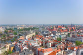 Old town of Wroclaw from above — Stock Photo