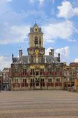 Municipio di delft, olanda — Foto Stock