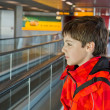 Stock Photo: Boy in airport
