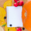Autumn recipes — Stock Photo