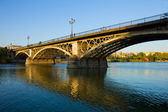 Triana Bridge, Seville, Spain — Stock Photo