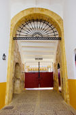 Main entrance of bullfight arena, Sevilla, Spain — Stock Photo