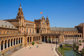 View of Plaza de España, Sevilla, Spain — Stock Photo