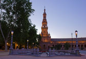 Plaza de España , Seville, Spain — Stock Photo