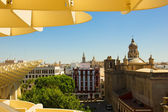 Cityscape of Seville, Spain — Stock Photo