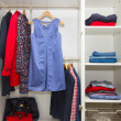 Closing in wardrobe — Foto de Stock