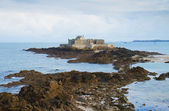 Fort National, Saint Malo, Brittany, France — Foto Stock