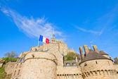 Close up of Mont Saint Michel, France — Stock Photo
