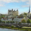 Stock Photo: Saumur, Pays-de-la-Loire, France