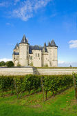 Saumur castle in the Loire Valley — Stock Photo