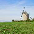 Traditional windmill - Le Moulin Moidrey,  France — Stock Photo