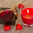 Velentines day gift — Stock Photo