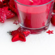 Christmas candle — Stock Photo #15122859
