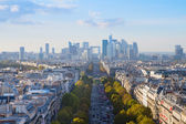Skyline of Paris, France — Stock Photo