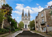 St Maurice cathedral, Angers, France — Stock Photo