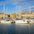 Marina of  Saint Malo, France - Stock Photo