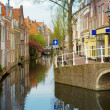 Old town, Delft, Netherlands — Stock Photo