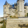 Stock Photo: Saumur castle, France