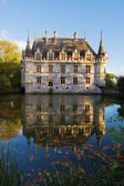 Azay-le-Rideau chateau, France — Stock Photo