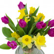 Spring flowers bouquet — Stock Photo #17210801