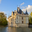 Azay-le-Rideau castle, France — Stock Photo